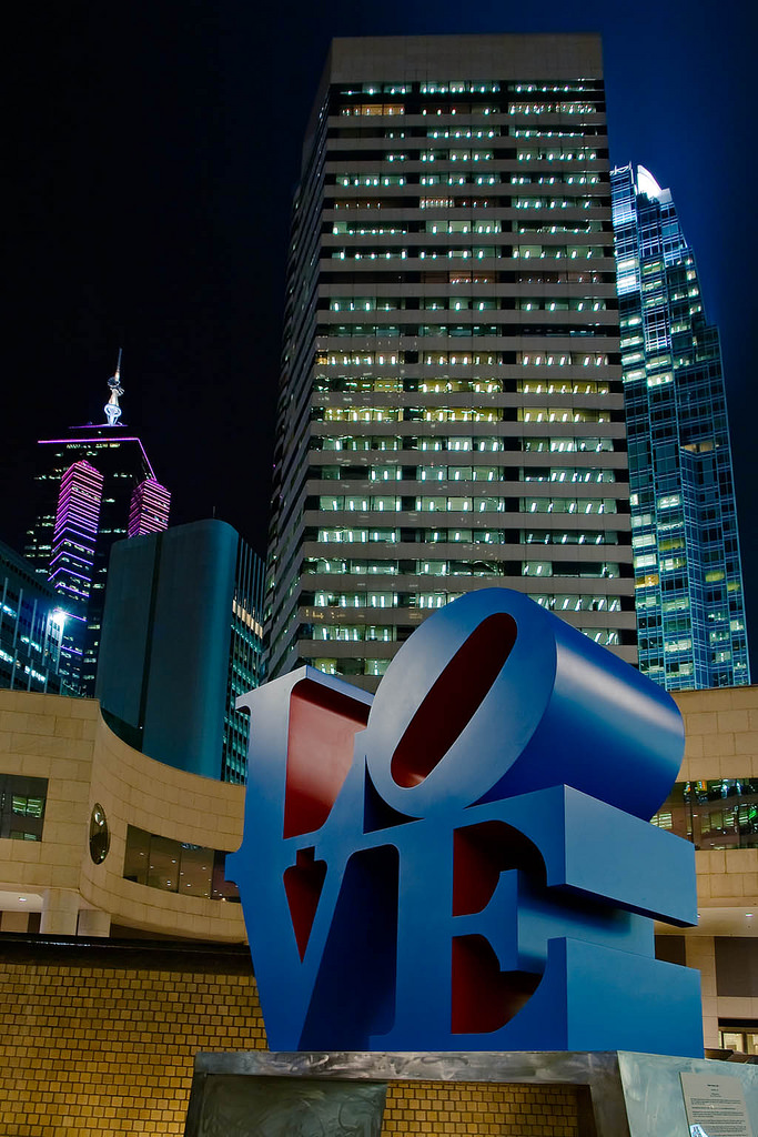 Robert Indiana in Hongkong | by ForsterFoto