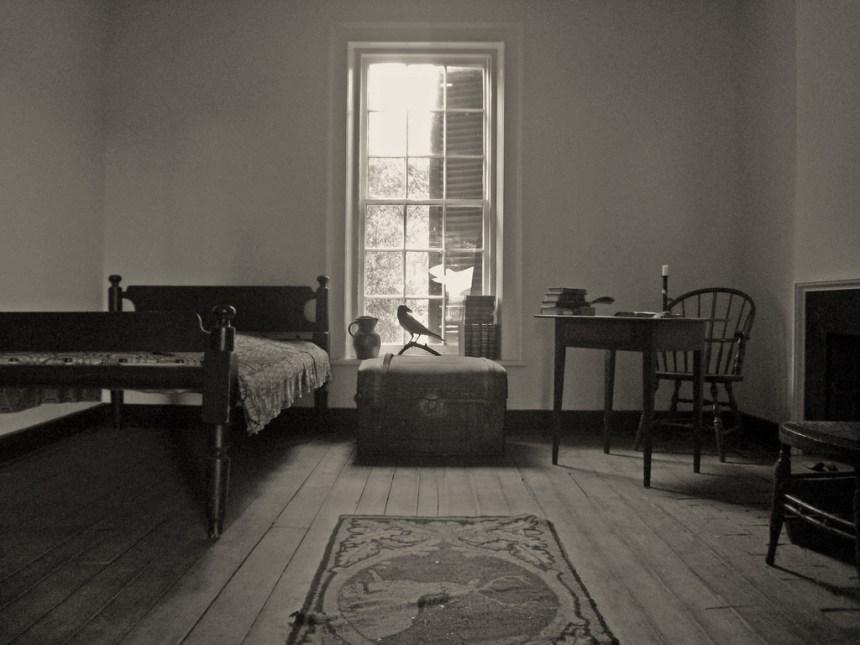University of Virginia - room of Edgar Allan Poe
