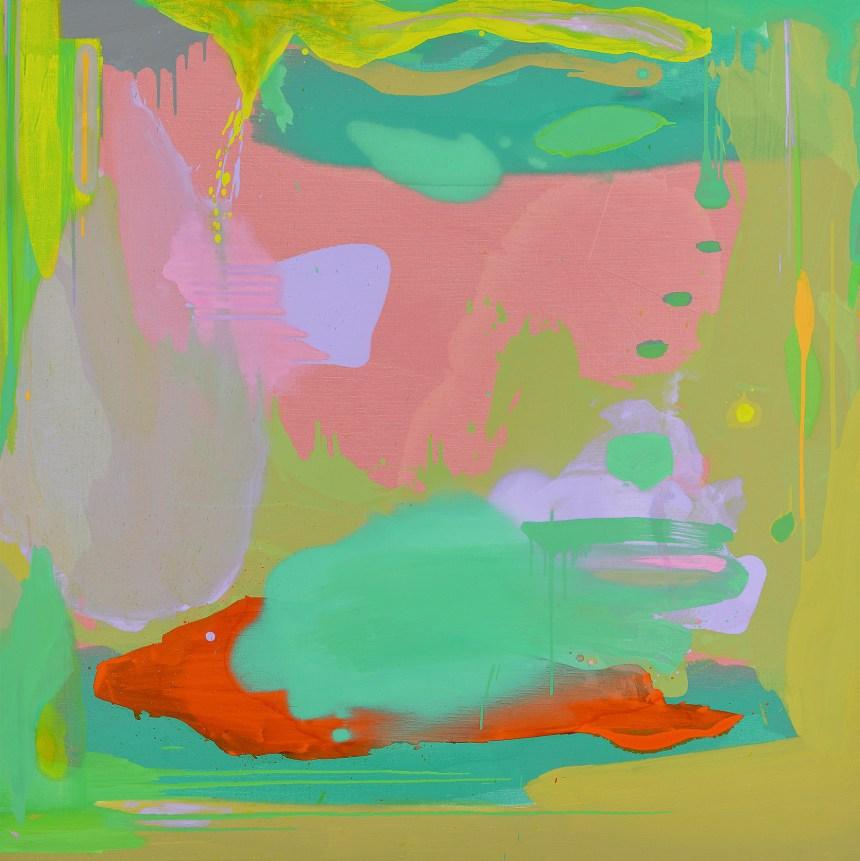 05_紀嘉華 Jason Chi_時間的形狀-2 The Shapes of Time-2_2018_油彩・亞麻布 Oil on Linen_122 x 122 cm