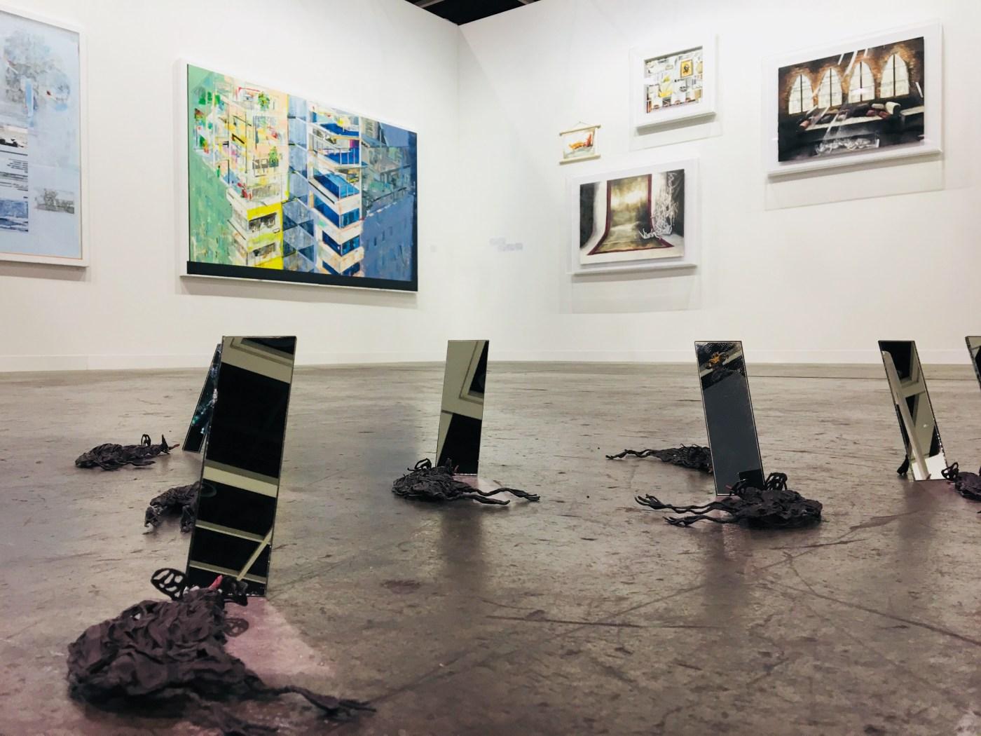3. ABHK2018_空景 Installation_就在藝術空間 Project Fulfill Art Space