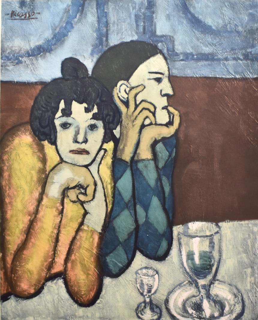 ART TAIPEI 2019 highlight - Pablo Picasso_The Harlequin and his Companion_Collotype with Pochoir_103x73.5_1960 Courtesy of Gilden's Arts Gallery|英國倫敦