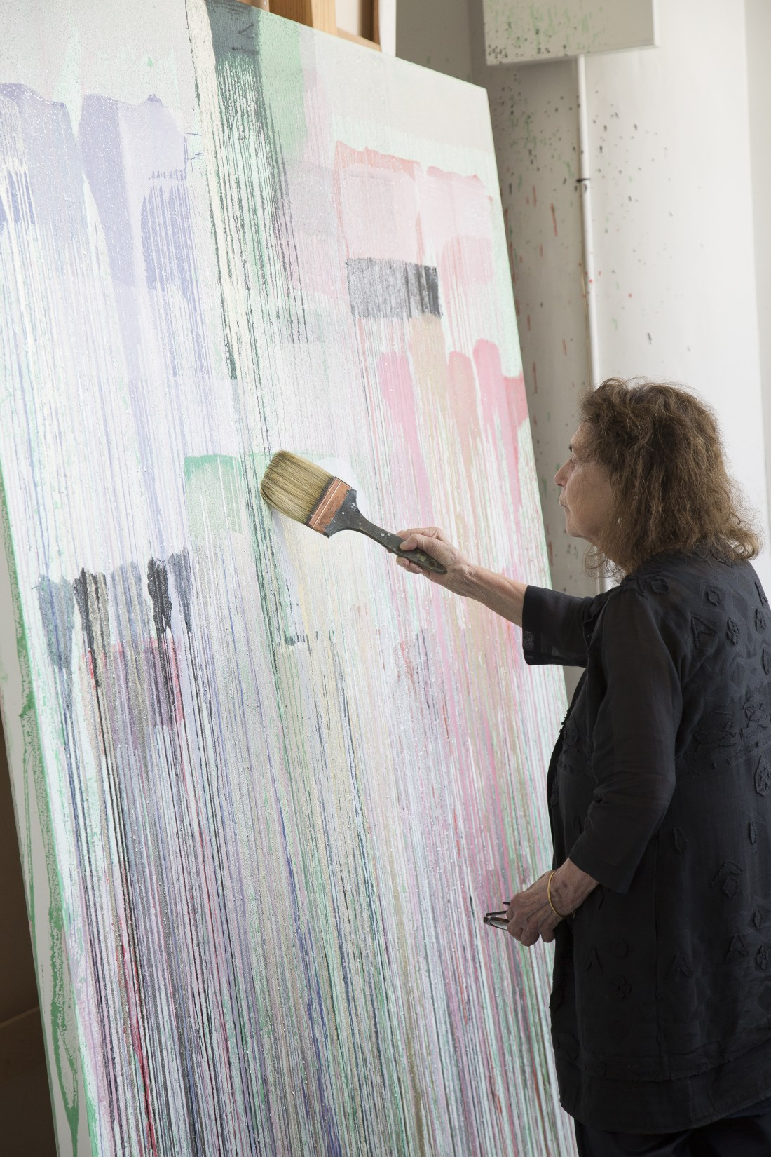 Pat Steir, 2017. Photo: Jean-François Jaussaud