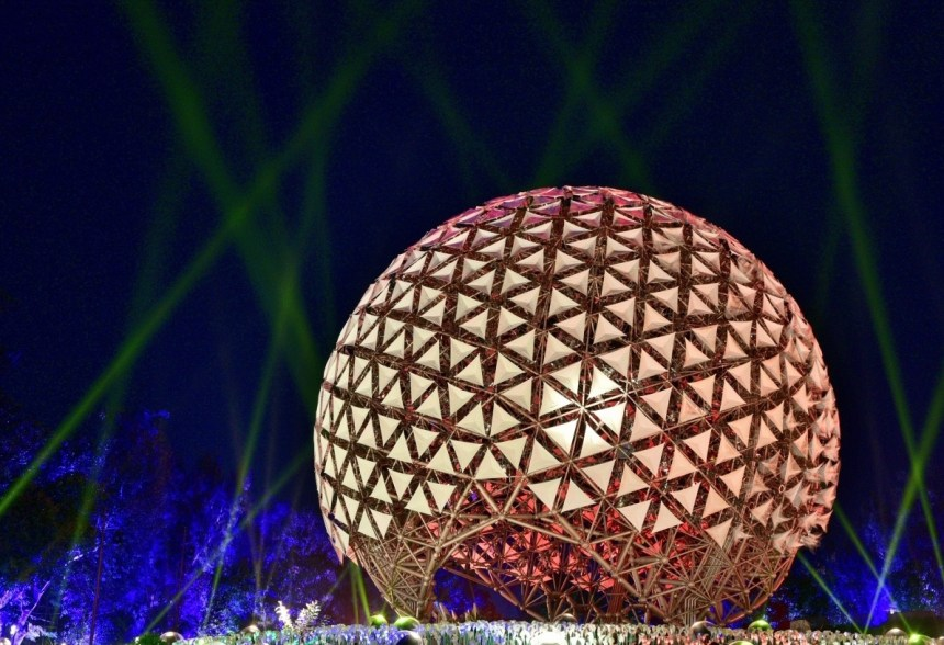 豪華朗機工《聆聽花開-永晝心》 2020台灣燈會璀璨登場