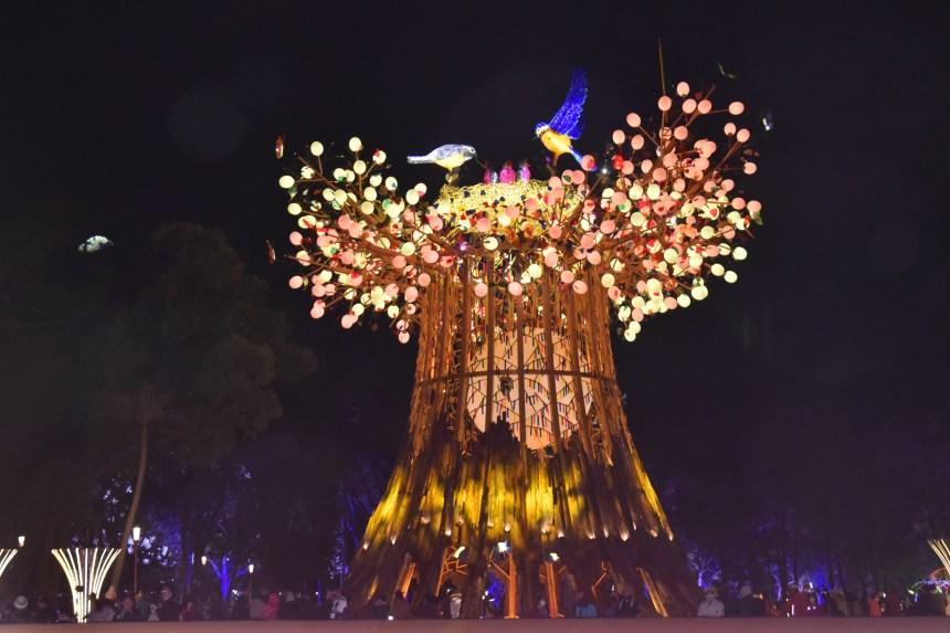 2020台灣燈會主燈《森生守護・光之樹》