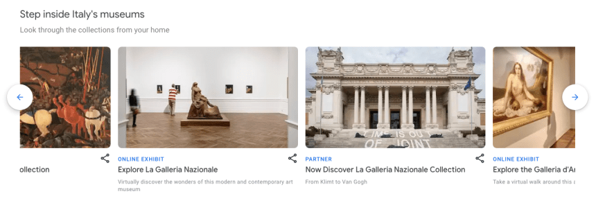 Google「藝術與文化(Arts & Culture)」