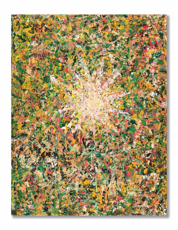 Sophie Chang_Source of Hope 張淑芬《希望之源》 2019 年作,油畫畫布,116.5 x 91 公分 估價:50,000 至 100,000 美元(不設底價) Courtesy of Sotheby's