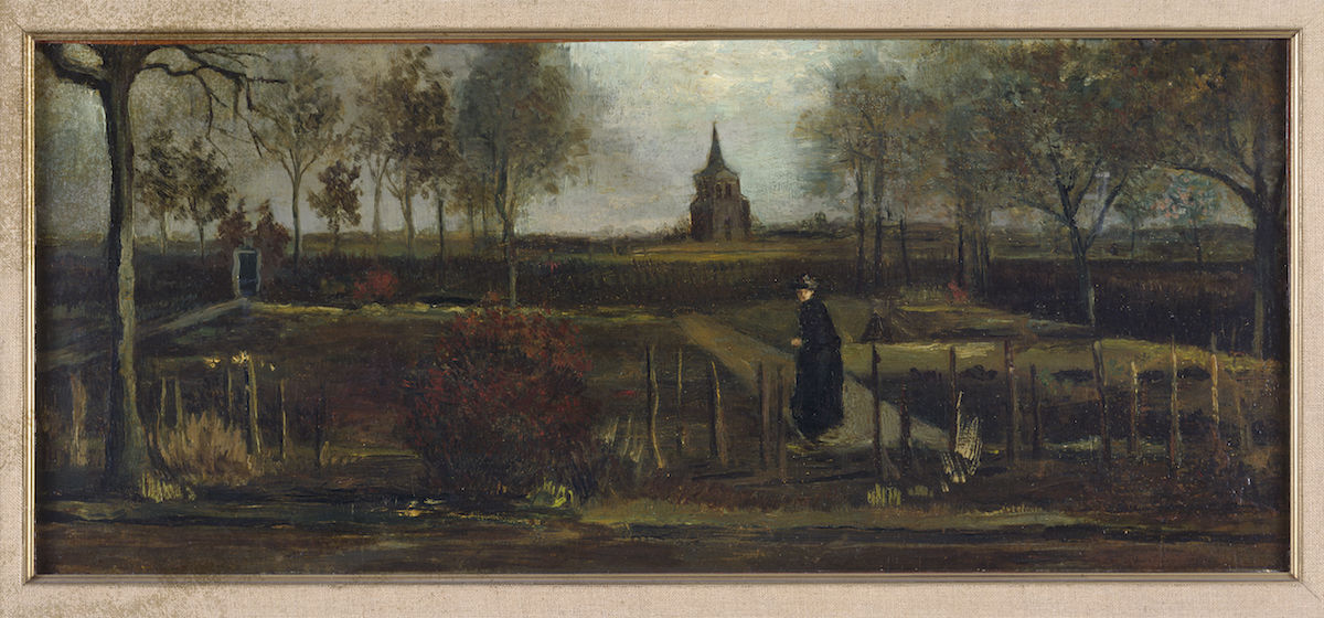 Vincent van Gogh, The Parsonage Garden at Nuenen in Spring 1884, 1884. Groninger Museum. Courtesy Museum Singer Laren.