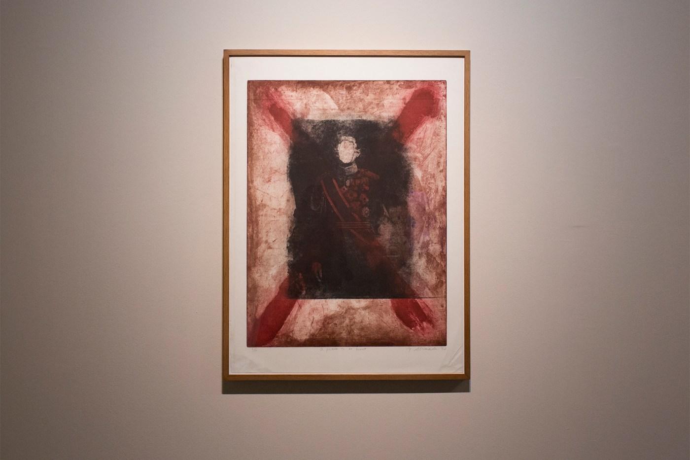 嶋田美子 SHIMADA Yoshiko, A Picture to be Burned 《應該被燒毀的畫》,© SHIMADA Yoshiko Courtesy of Ota Fine Arts