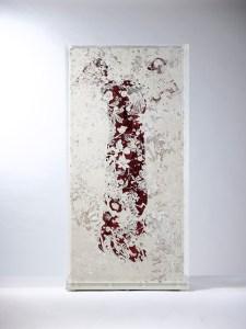 石晉華 SHI Jin-Hua, 《走筆#173 霽月吹雪圖》 Pen Walking#173 The Picture of Unclouded Moon and Blowing Snow 2019 - 2020 紙、墨、白色鉛筆、炭精、粉彩、文件 Paper, ink, white pencil, pastel, graphite, document paper:77 x 146 cm document : 48.3 x 32.9 cm, Courtesy of Mind Set Art Center
