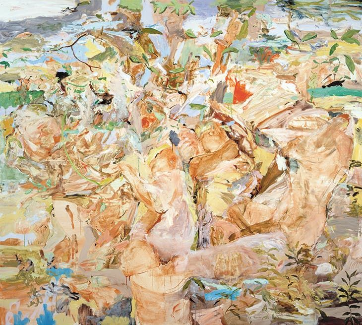 Cecily Brown, Figures in a Landscape 1 (2001)