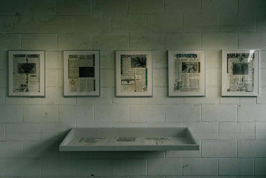 1990年代初,姚瑞中主編之地下刊物《宣統報》(藝術家自藏)The underground zine, Xuantong News, edited by Yao Jui Chung in the early 1990s. (Collection of the artist)