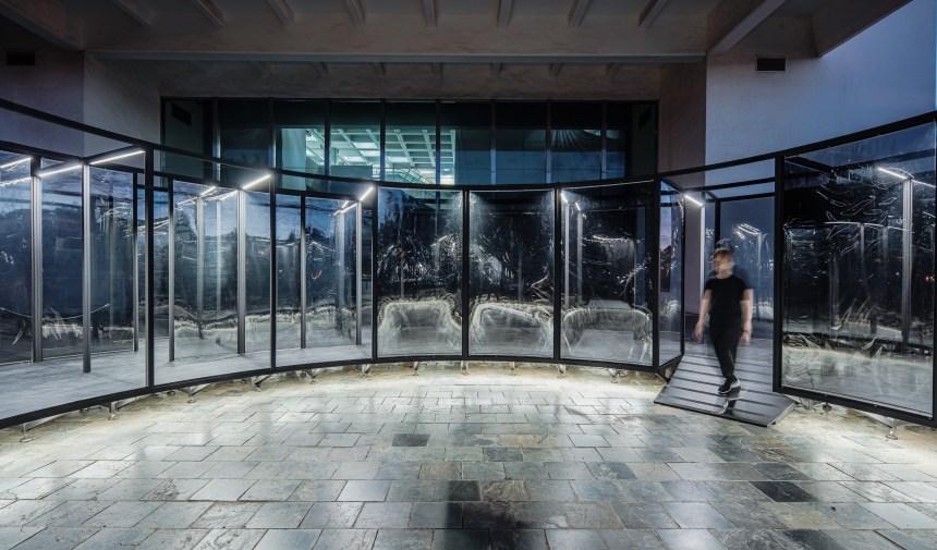 何理互動設計,《膜》(夜間局部),2020 ©何理互動設計,攝影/朱逸文
