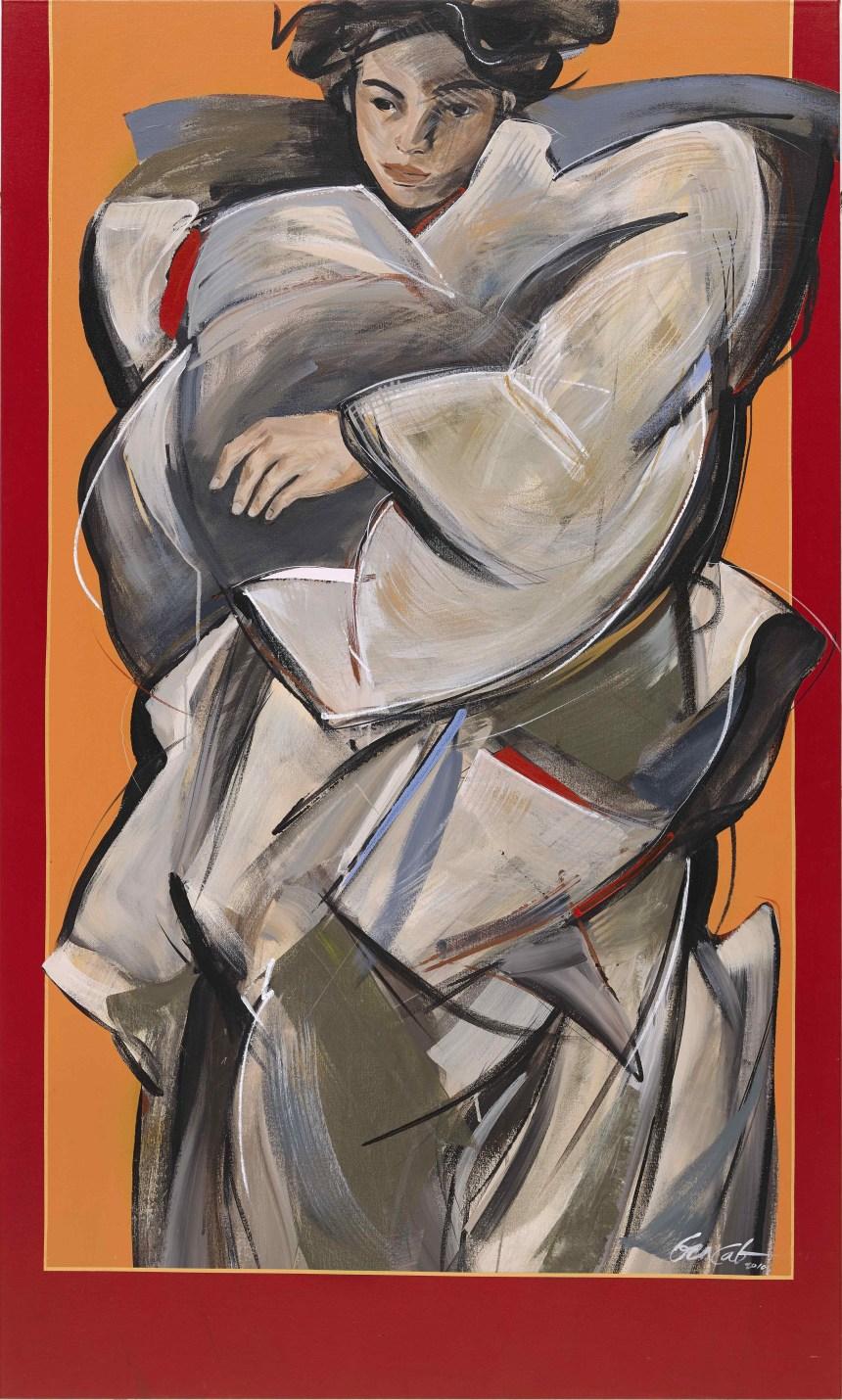 Benedicto Reyes Cabrera_Monumental Figure, Courtesy of Sotheby's