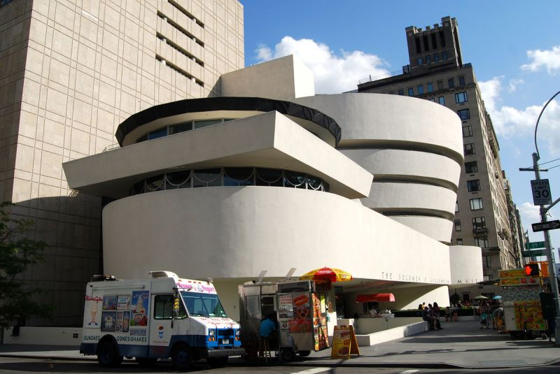 The Solomon R. Guggenheim Museum. Image via Flickr