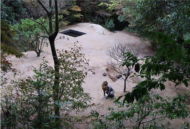 皮耶.雨格,《深水》,2017,混凝土模型與蜂巢、蜂群,90 x 54 x 65 公分。展出版次: 文心藝術基金會收藏。圖像由藝術家、Taro Nasu 東京畫廊、東京國立近代美術館和太宰府天滿宮提供。