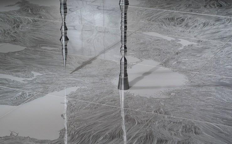 「存在の細語」大卷伸嗣個展 - 展覽現場 Courtesy of 安卓藝術 Mind Set Art Center