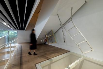石孟鑫現地製作新作《T》© 忠泰美術館