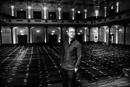 Max Richter performs his 8-hour musical piece 'SLEEP' in the Grote Zaal at the Concertgebouw in Amsterdam, Netherlands on 15 July 2017. Photo by Rahi Rezvani 圖/ 造次映畫提供
