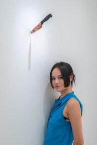 江宥儀與作品 John Yuyi and Her Works, TAO ART 提供 Courtesy of TAO ART