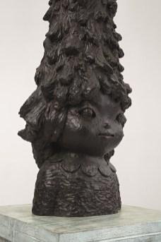 Yoshitomo Nara_Miss Tannen 奈良美智《樅樹小姐》,2012年作,銅雕成交價4,350,000港元, Courtesy of the artist and Phillips 富藝斯