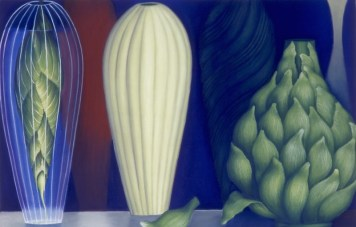 Nature Morte I, pastel on paper, 80h x 120w cm, 1998