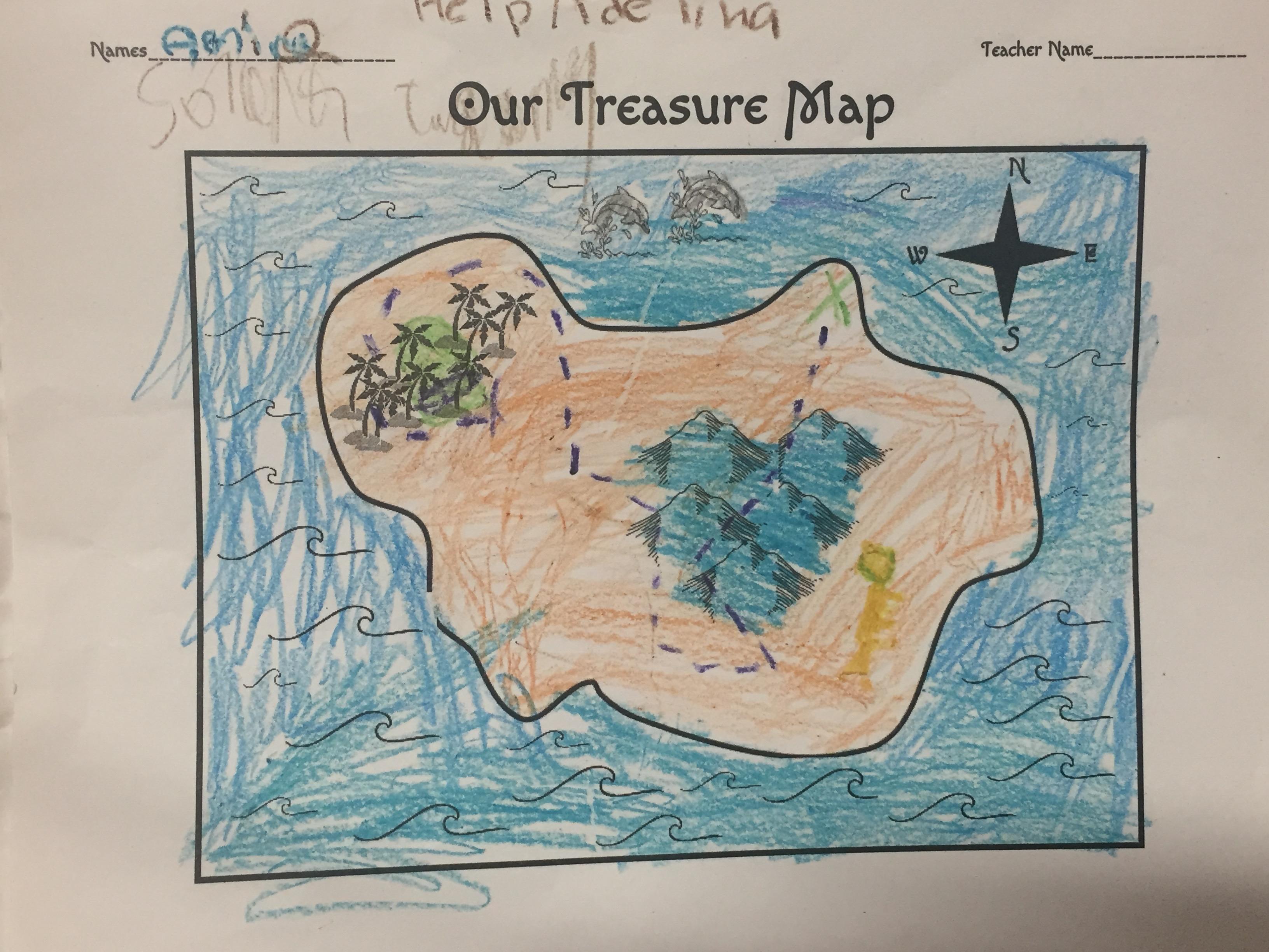 2nd Grade Treasure Map Dances The Arts At Lfcsa