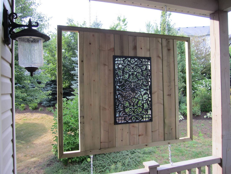 20 Ideas Of Modern Outdoor Wall Art