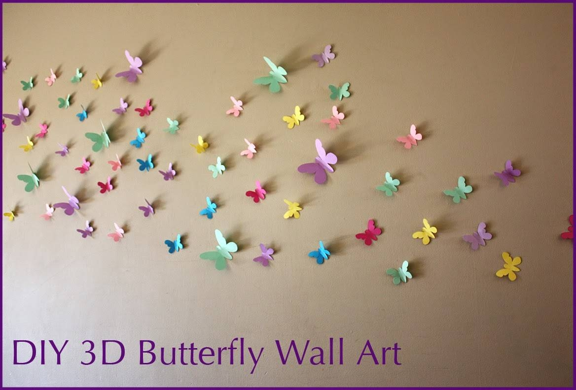 69 Tutorial How To Draw Butterfly For Wall Decorations