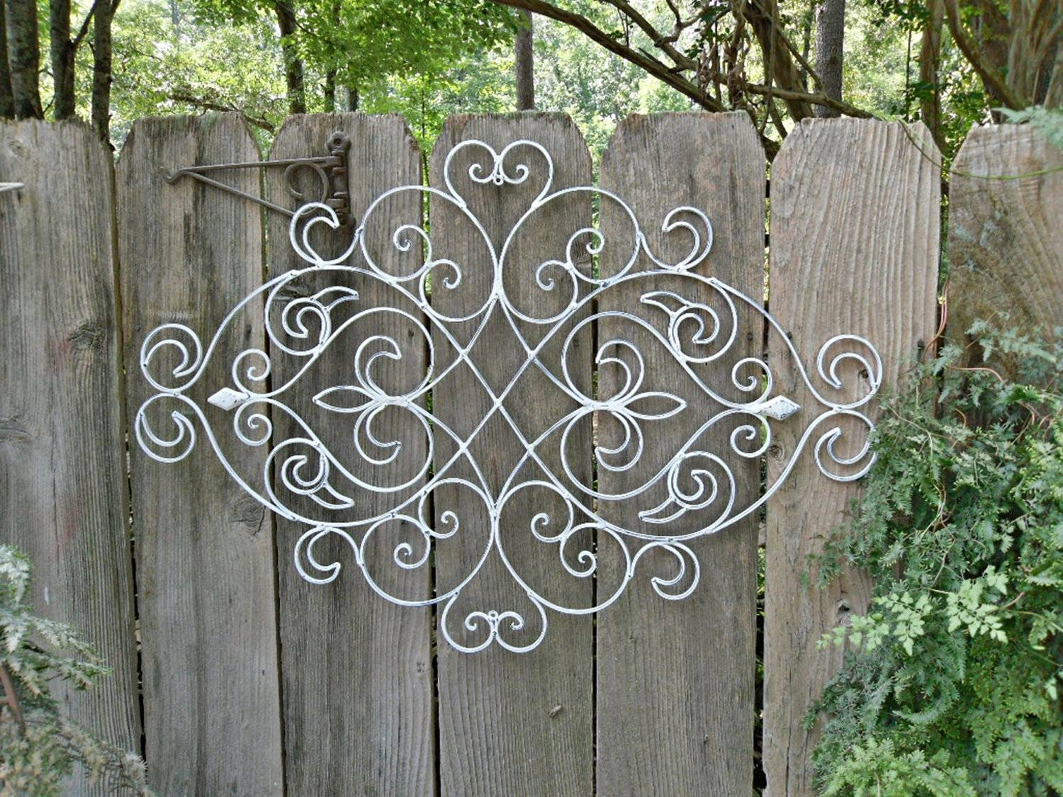 20 Best Collection Of Large Metal Wall Art For Outdoor