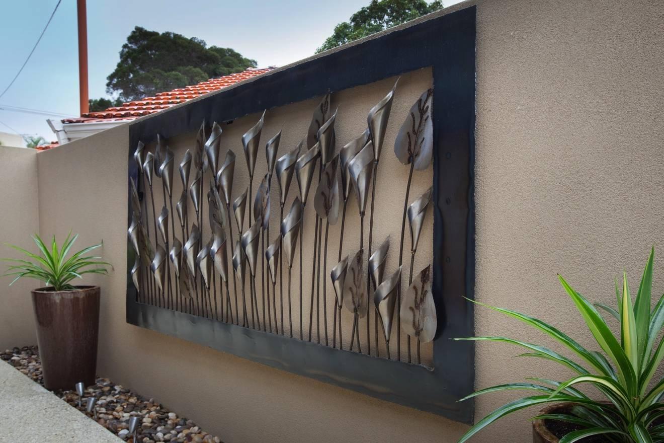 20 Photos Outdoor Metal Wall Art Decors
