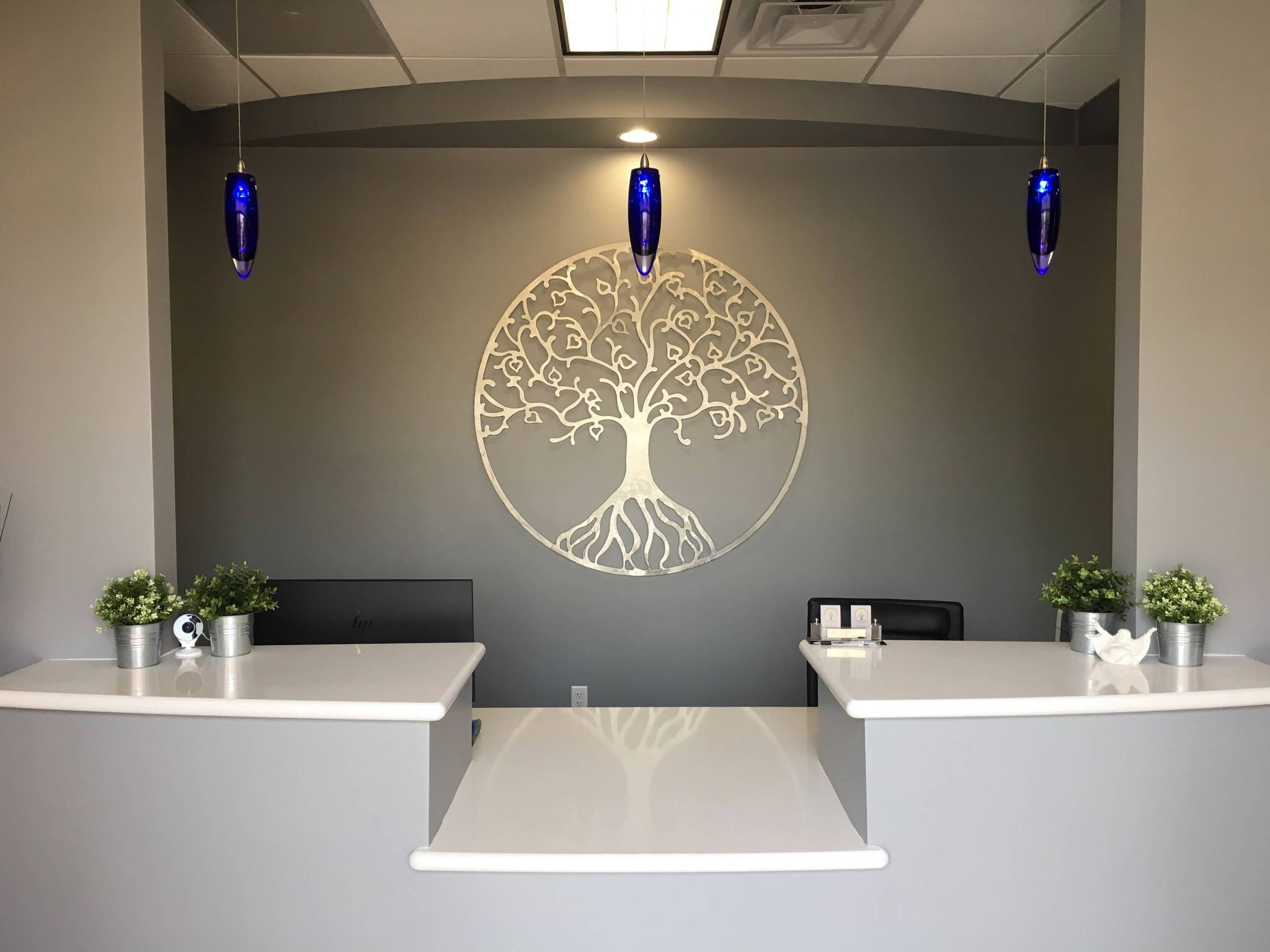 2019 Best Of Large Tree Of Life Metal Wall Art