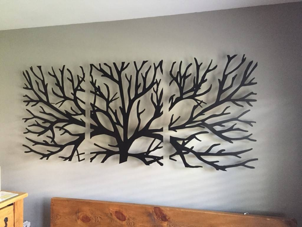 2019 Best Of Palm Tree Metal Wall Art