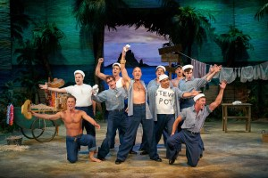 Cast of South Pacific, photo by Peter Wochniak