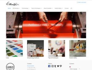 gamblin website capture