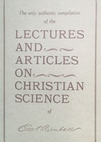 Lectures and Articles on Christian Science(P)