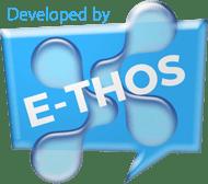 e-thos logo blue