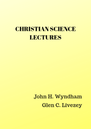 Christian Science Lectures