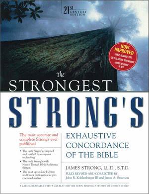 Strong's Exhaustive Bible Concordance