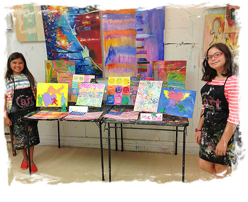 Summer Art Camp and Programs at The Art Studio NYC