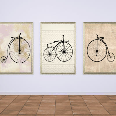 Bicycle prints