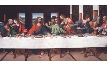 Копия «Тайной вечери», сделанная итальянским художником и учеником Леонардо Да Винчи Джампиетрино