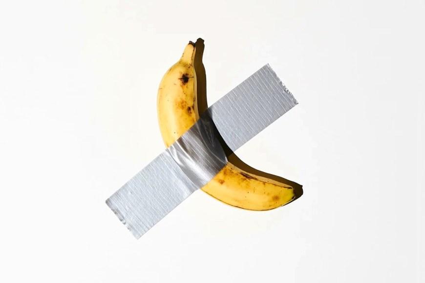 Уже история? Музей Гуггенхейма принял в дар скандальный банан Каттелана
