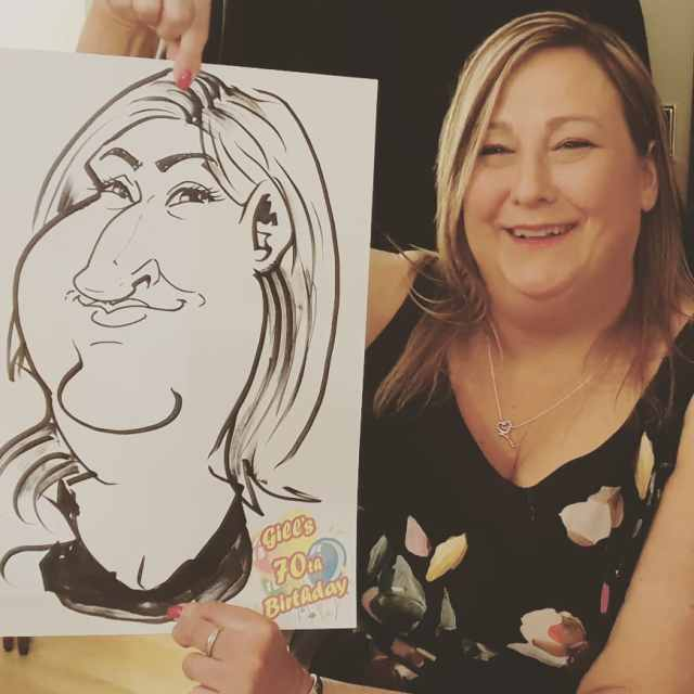 Caricature Party Entertainment