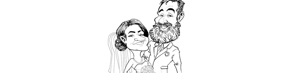 Wedding Caricature