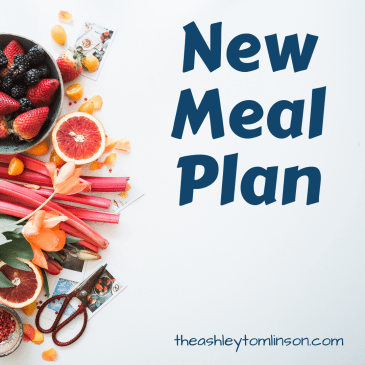 New Meal Plan