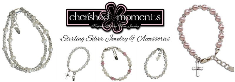 Cherished Moments Sterling & Pearl Baby Jewelry