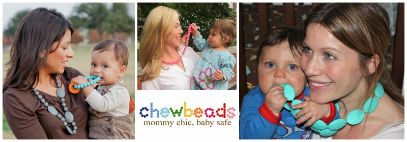 Chewbeads Teething Accessories for Baby