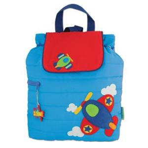 stephen-joseph-airplane-quilted-backpack