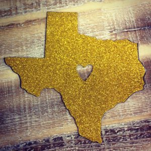 gold-glitter-texas-car-magnet