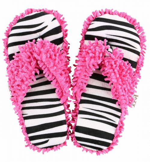 lazy-one-zebra-spa-slippers
